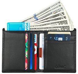 Kinzd Vertical Bifold Wallet